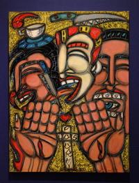 Los Four P/V The Pleasure and Pain (2005). David Flury.