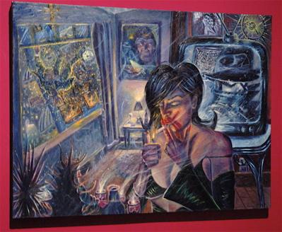 Una Noche Oscura (2005). Adán Hernández.