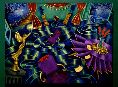 Night Voyage (2005). Patssi Valdez.