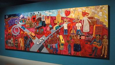 The History of The Chicano Movimiento (1999). Frank Romero.