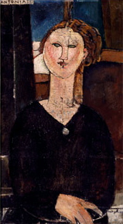 Antonia, c. 1915. Amedeo Modigliani.