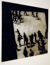 Desconcierto, 1985. Juan Genovés.