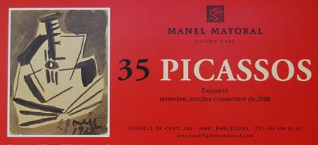 35 Picassos - Galería Mayoral