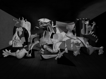 A 3D Exploration of Picasso's Guernica