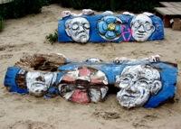 Una obra en el patio de Tacheles