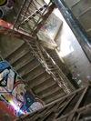 Las escaleras del Tacheles, en Berlín.