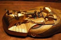 Uno de los sarcófagos de Tutankhamón