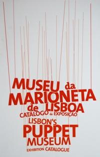 Catálogo de exposición del Museu da Marioneta de Lisboa