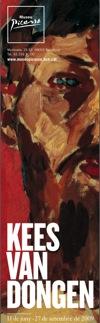 Kees van Dongen en el Museu Picasso de Barcelona.