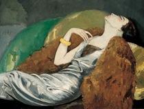Mujer en un canapé, 1930. Kees Van Dongen. Únicamente para ilustrar el post.