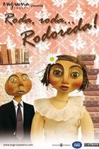 Cartel de la obra RODA, RODA... RODOREDA! de la Cía. Engruna Teatre. Únicamente con la intención de ilustrar el post.