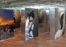 Exposición fotográfica 'Infancia. Fotografías de Isabel Muñoz' en Caixa Forum. Únicamente con la intención de ilustrar el post.