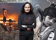 Isabel Muñoz en su exposición 'Infancia' en Caixa Forum. Únicamente con la intención de ilustrar el post.