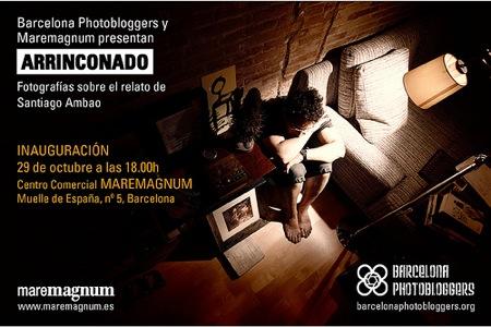 Invitación a la inauguración de Arrinconado, de Barcelona Photobloggers