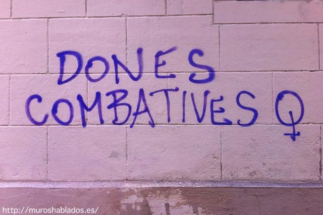 Mujeres combativas