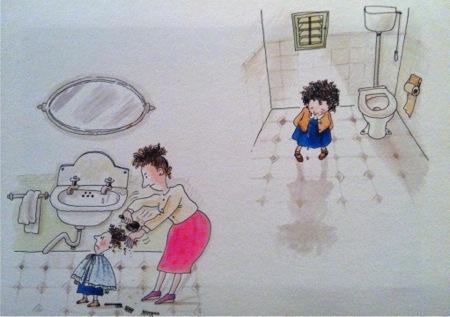Ilustracion de uno de sus cuentos