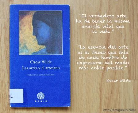 Las artes y el artesano, by Oscar Wilde